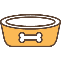 Misky a nádoby na krmivo